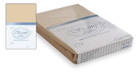 Scamp Gumis lepedő 60x120 / 70x140 - Bézs