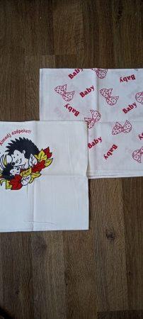 Textil Pelenka 70 x 70 cm - 2 db-os - Süni-Masni
