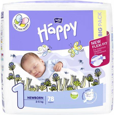 Bella Happy 1 Newborn pelenka (2-5 kg) 78 db-os
