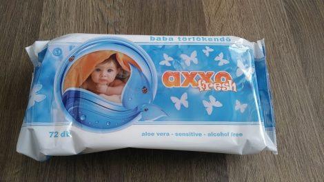 Axxo Fresh baba törlőkendő - 72 db-os