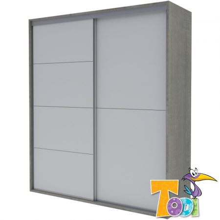 Todi Cube Gardróbszekrény - 140-es