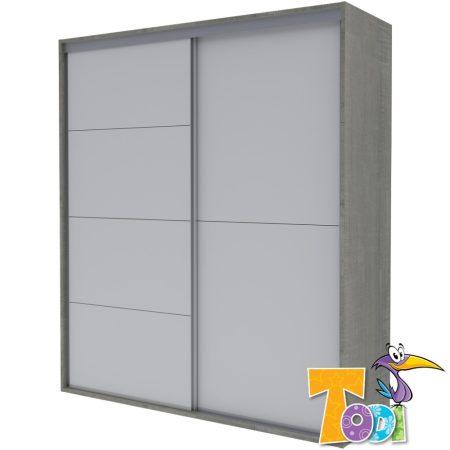 Todi Cube Gardróbszekrény - 180-as