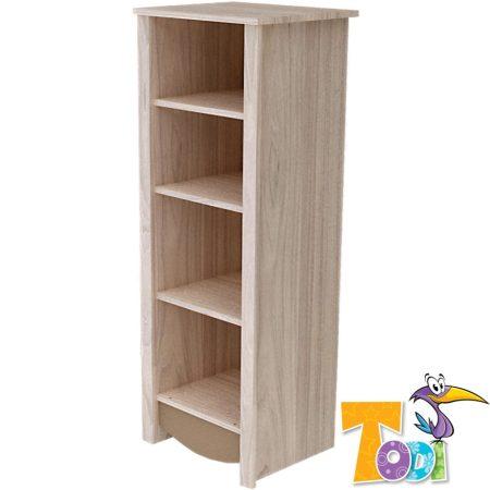 Todi Teddy keskeny nyitott polcos szekrény