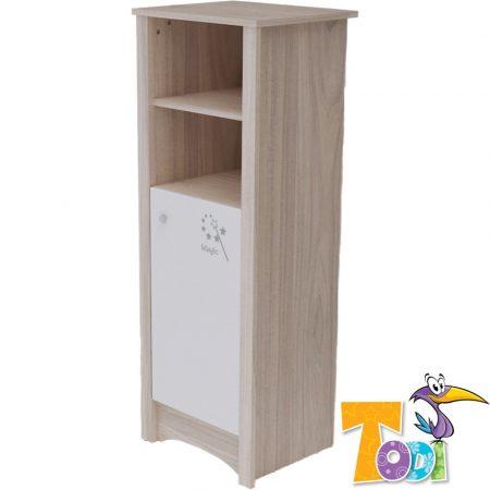 Todi Magic keskeny nyitott  polcos + 1 ajtós szekrény
