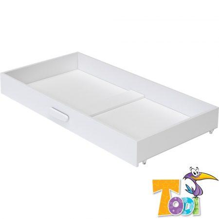 Todi Bianco  – gurulós ágyneműtartó 70 × 140-es babaágyhoz