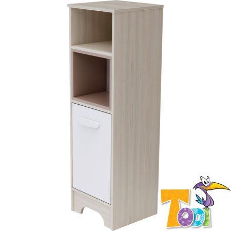Todi Ice Cream – keskeny nyitott +1 ajtós szekrény