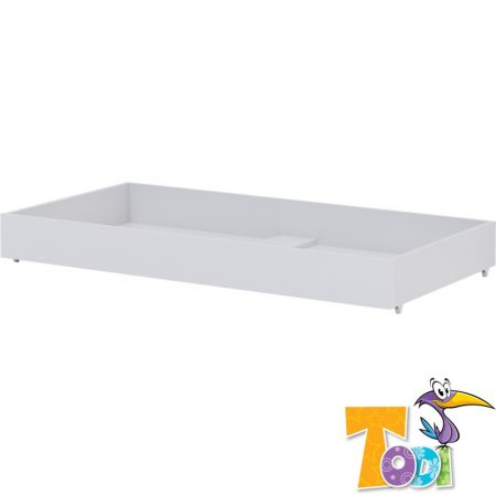 Todi White Bunny – gurulós ágyneműtartó 70 × 140-es babaágyhoz