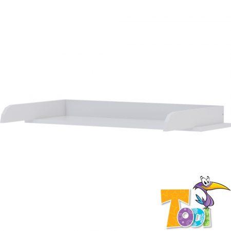 Todi White Bunny – pelenkázó toldalék 3 fiókos komódhoz