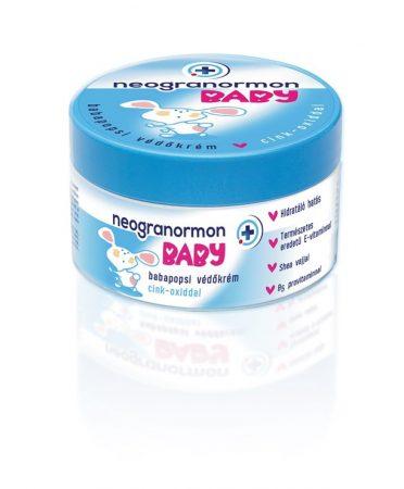 Neogranormon Baby Babapopsi Védőkrém Cink-oxiddal 200 ml