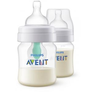Avent SCF810/24 Anti-colic 2db cumisüveg 125ml, 1db AirFree™ szeleppel