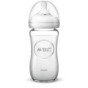 Avent SCF053/17 Natural üvegbõl készült Cumisüveg 240 ml